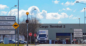 Cargo Terminal 2 at Dublin Airport