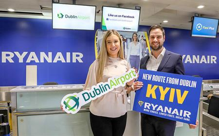 Ryanair Kyiv Launch
